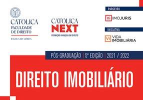 Abertas as candidaturas para mais uma edição da Pós-Graduação em Direito Imobiliário na UCP Lisboa